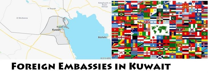 Foreign Embassies and Consulates in Kuwait