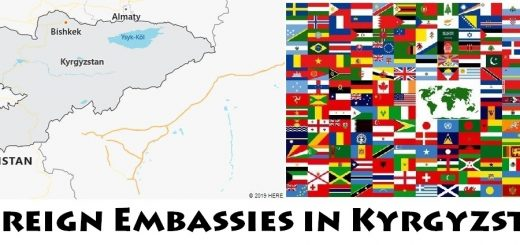 Foreign Embassies and Consulates in Kyrgyzstan