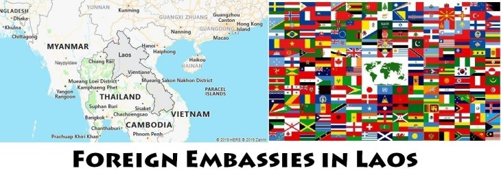 Foreign Embassies and Consulates in Laos