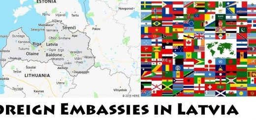 Foreign Embassies and Consulates in Latvia