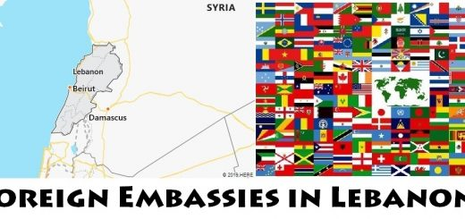 Foreign Embassies and Consulates in Lebanon