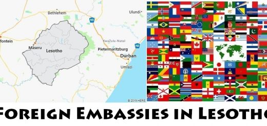 Foreign Embassies and Consulates in Lesotho