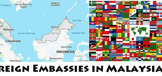 Foreign Embassies and Consulates in Malaysia