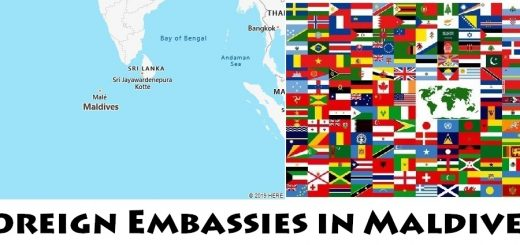 Foreign Embassies and Consulates in Maldives