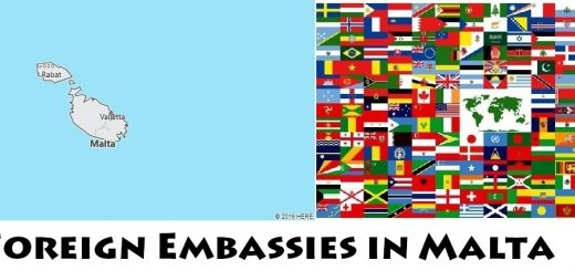 Foreign Embassies and Consulates in Malta