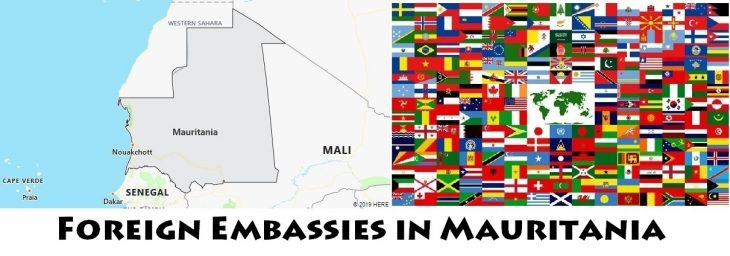 Foreign Embassies and Consulates in Mauritania