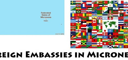 Foreign Embassies and Consulates in Micronesia