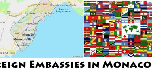 Foreign Embassies and Consulates in Monaco