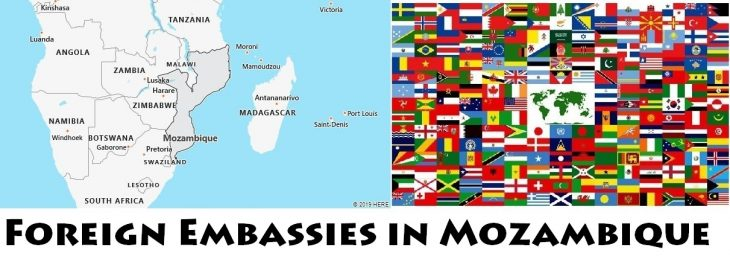 Foreign Embassies and Consulates in Mozambique