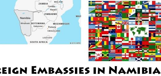 Foreign Embassies and Consulates in Namibia