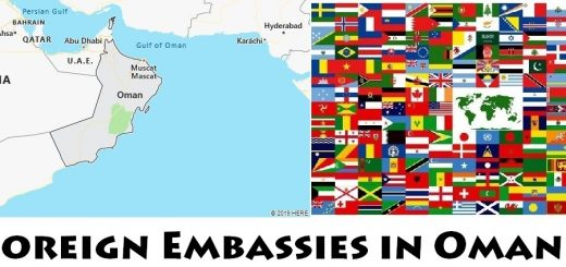 Foreign Embassies and Consulates in Oman