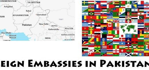 Foreign Embassies and Consulates in Pakistan