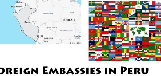 Foreign Embassies and Consulates in Peru