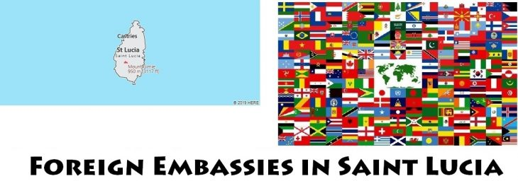 Foreign Embassies and Consulates in Saint Lucia
