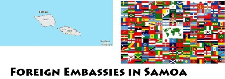 Foreign Embassies and Consulates in Samoa