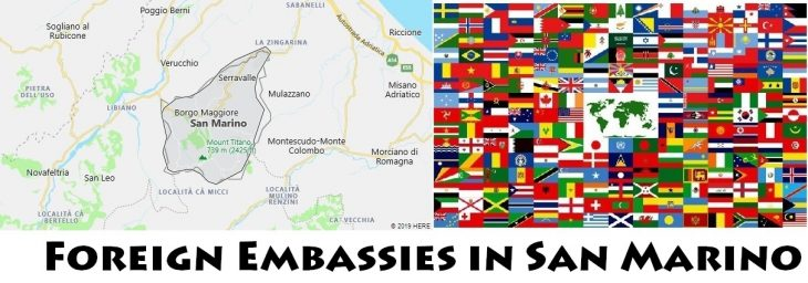 Foreign Embassies and Consulates in San Marino