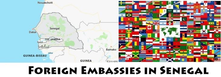 Foreign Embassies and Consulates in Senegal