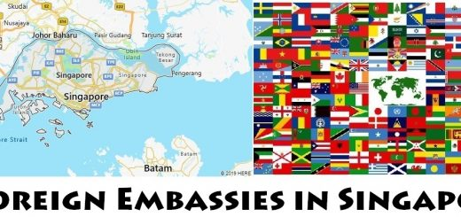 Foreign Embassies and Consulates in Singapore