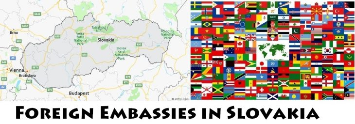 Foreign Embassies and Consulates in Slovakia