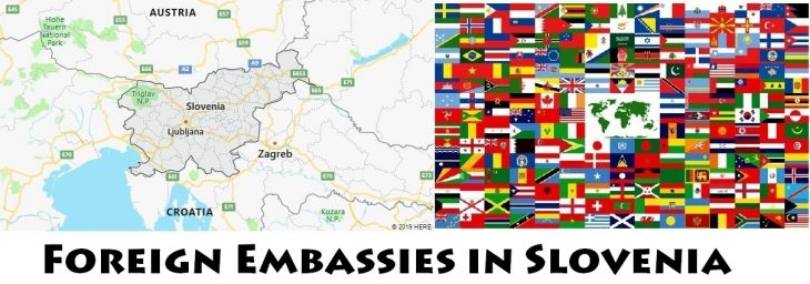 Foreign Embassies and Consulates in Slovenia