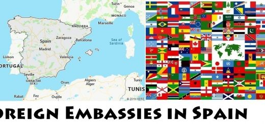 Foreign Embassies and Consulates in Spain