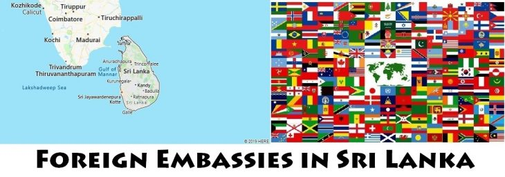 Foreign Embassies and Consulates in Sri Lanka