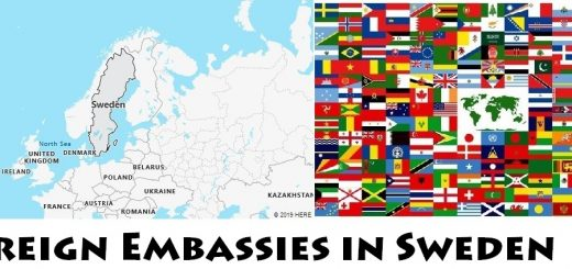 Foreign Embassies and Consulates in Sweden