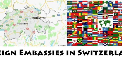 Foreign Embassies and Consulates in Switzerland