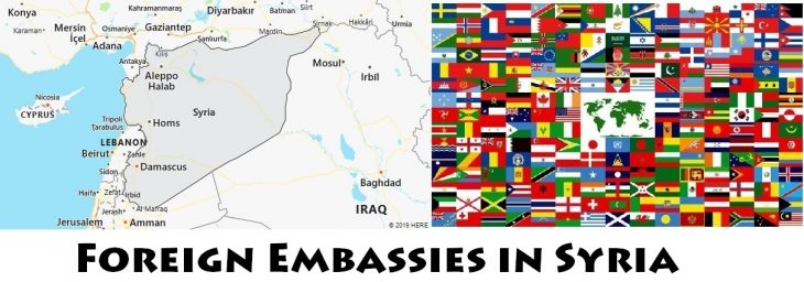 Foreign Embassies and Consulates in Syria