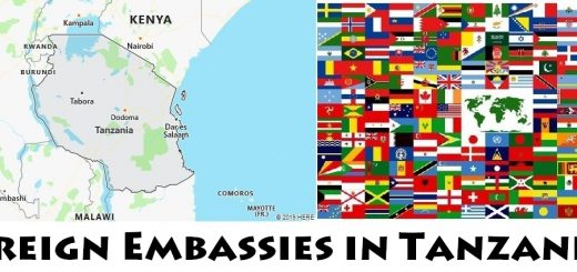 Foreign Embassies and Consulates in Tanzania