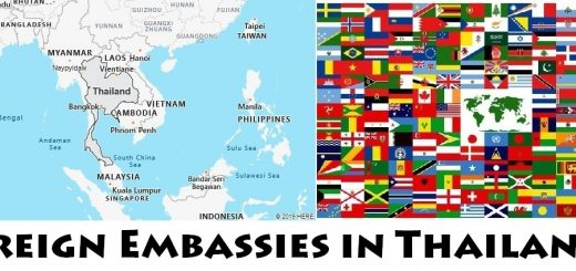 Foreign Embassies and Consulates in Thailand