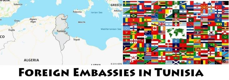 Foreign Embassies and Consulates in Tunisia