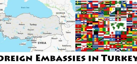 Foreign Embassies and Consulates in Turkey