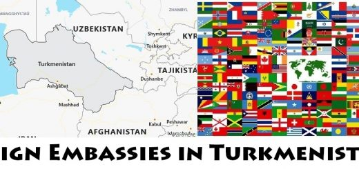 Foreign Embassies and Consulates in Turkmenistan