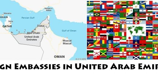 Foreign Embassies and Consulates in United Arab Emirates