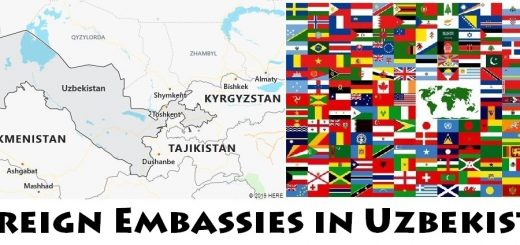 Foreign Embassies and Consulates in Uzbekistan