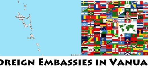 Foreign Embassies and Consulates in Vanuatu