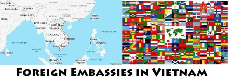 Foreign Embassies and Consulates in Vietnam