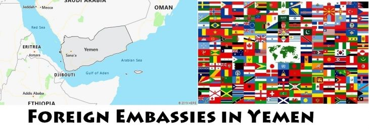 Foreign Embassies and Consulates in Yemen