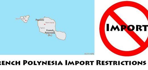 French Polynesia Import Regulations