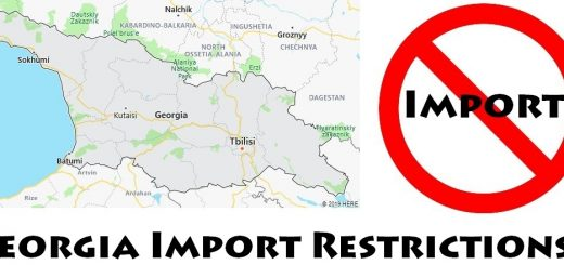 Georgia Import Regulations