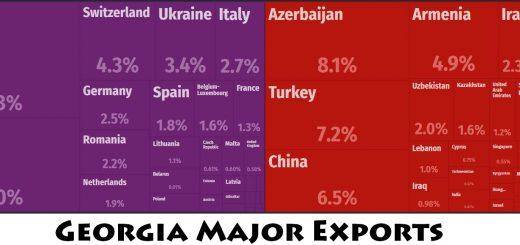 Georgia Major Exports
