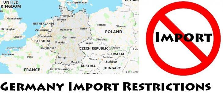Germany Import Regulations