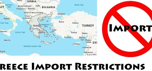 Greece Import Regulations