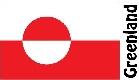 Greenland Country Flag