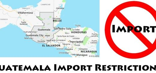 Guatemala Import Regulations