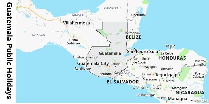 Guatemala Public Holidays