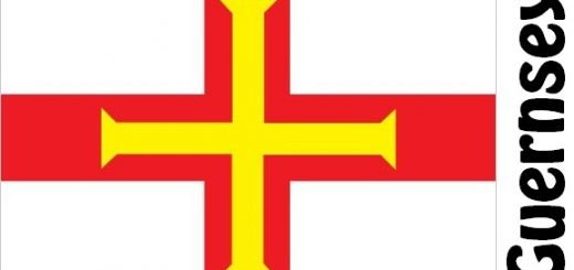 Guernsey Country Flag