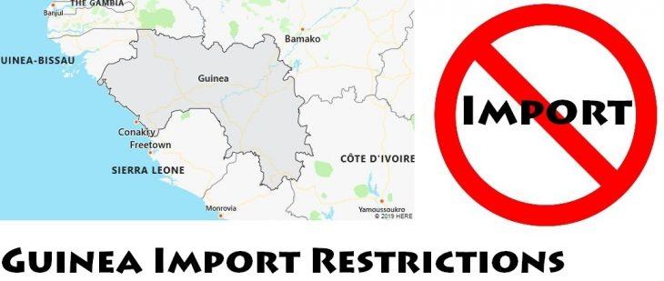 Guinea Import Regulations