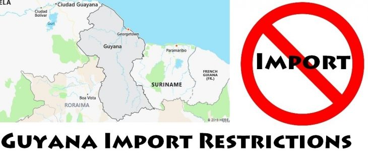 Guyana Import Regulations